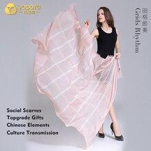 Yopota однотонные шерстяные роскошные шарфы в полоску оверсайз шаль новые высококачественные шарфы topgrade подарок