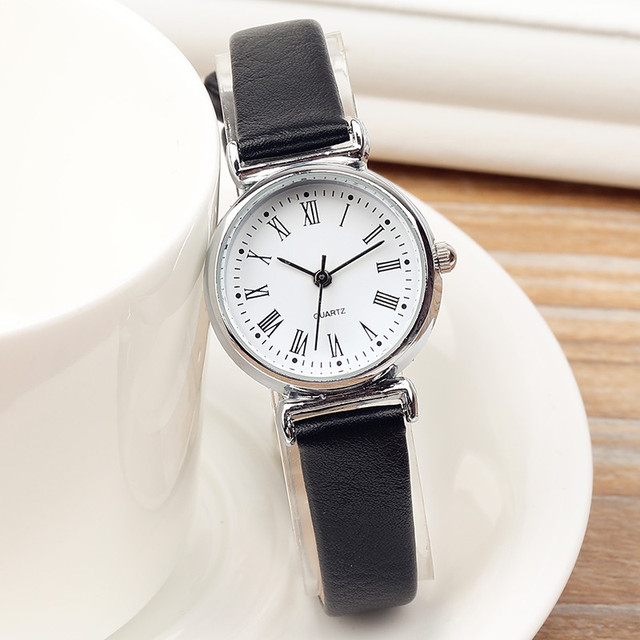 Exquisite Small Dial Fashion Ladies Leisure Quartz Watches Women Mini Simple Fem