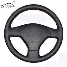 Оплетка рулевого колеса для Volkswagen VW Jetta 5 2006-2010 старый Jetta/Автомобильный руль чехлы для защиты салона автомобиля