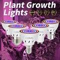 E14 Гидропоника Fito лампа GU5.3 Led полный спектр GU10 растут светодиодные лампы для саженцев 220 В E27 Крытый Growbox лампы B22 luz plantas