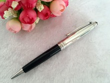 Unique design Luxury monte Meisterstuck metal MB Pen classic black&Silver Ballpoint Pen Great Quality No Box