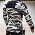 Новая тенденция хлопка 2016 новый зимний ветровка камуфляж мужские пуловеры камуфляж куртка