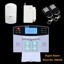 Беспроводная GSM Сигнализация Главная Охранной Сигнализации ЖК Клавиатура Сигнализация