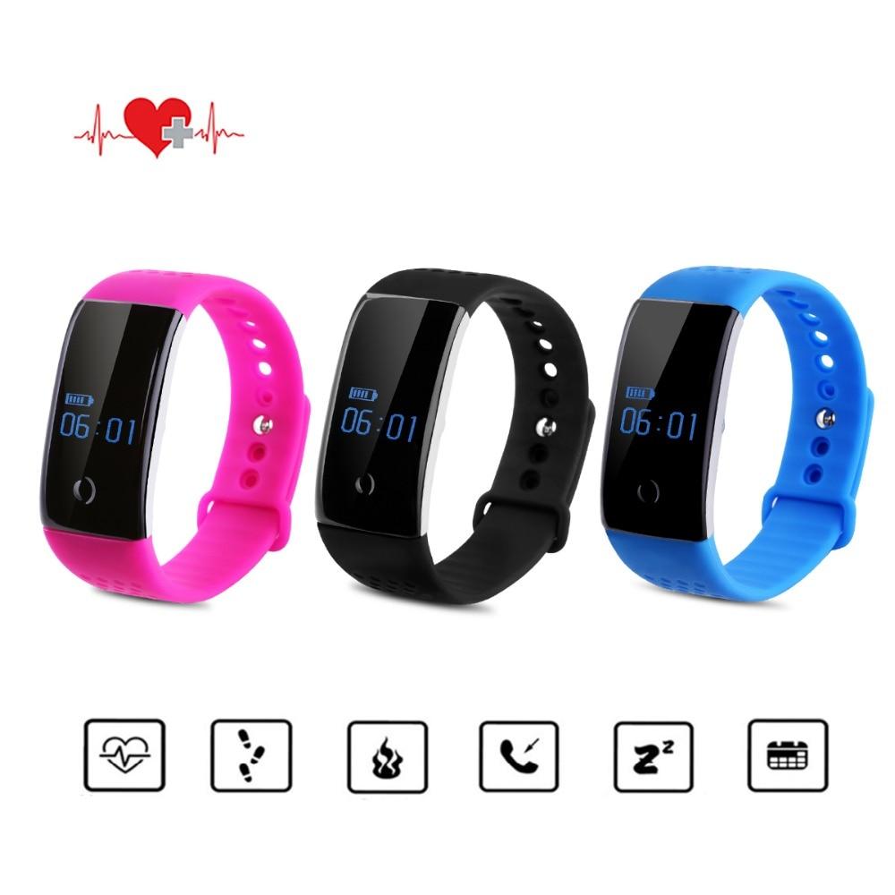 Diggro S1 Smart Bracelet Heart Rate Monitor Blood Oxygen Sports Wristband Fitnes