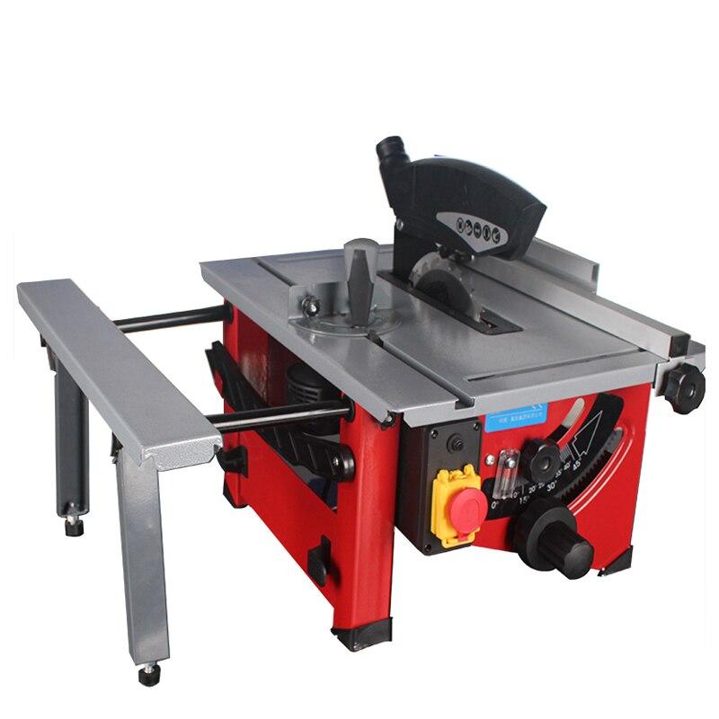 Máquina Eléctrica de sierra de mesa de carpintería multifunción de corte de ángulo de ajuste de la máquina de fabricación de sierra de madera