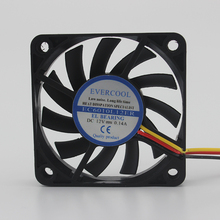 6 см 6010 12 В 0.14a ec6010l12er 3-провод вентилятора охлаждения