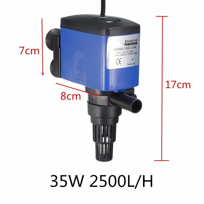 1x 12W 15W 20W 25W 35W 45W 3-in-1 Wave Maker Purifier Filter Oxygen Water Pump  Aquarium Fish Tank Powerhead