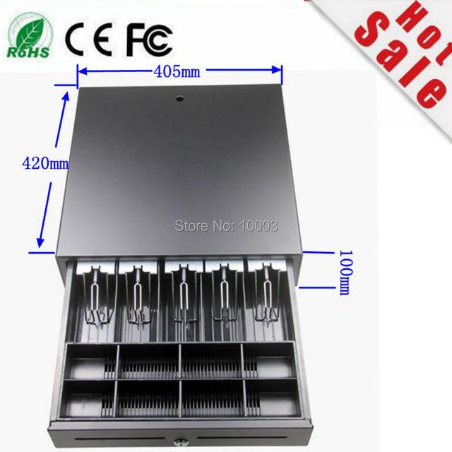 2017 offre spéciale Ecc 4:3 ordinateur de jeu meilleure qualité caisse enregistreuse tiroir Pos cinq grilles trois sections de la caisse 1