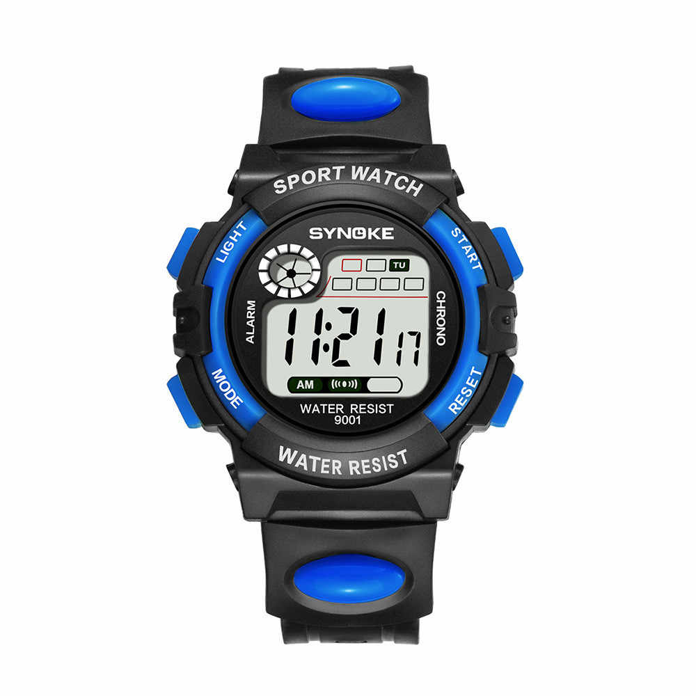 Montres de marque de luxe hommes montres de sport LED étanche Quartz numérique hommes montre-bracelet militaire horloge mâle Relogio Masculino # Y