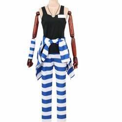 Nanbaka Detentionhouse Uno Единая аниме Хэллоуин рождественский карнавальный костюм руку равномерной костюм