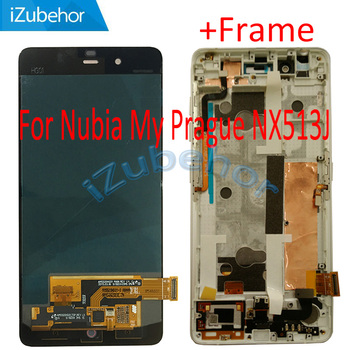 5.2 inch display screen For ZTE Nubia My Prague NX513J LCD+touch screen digitizer Assembly 1920X1080 pixels free shipping