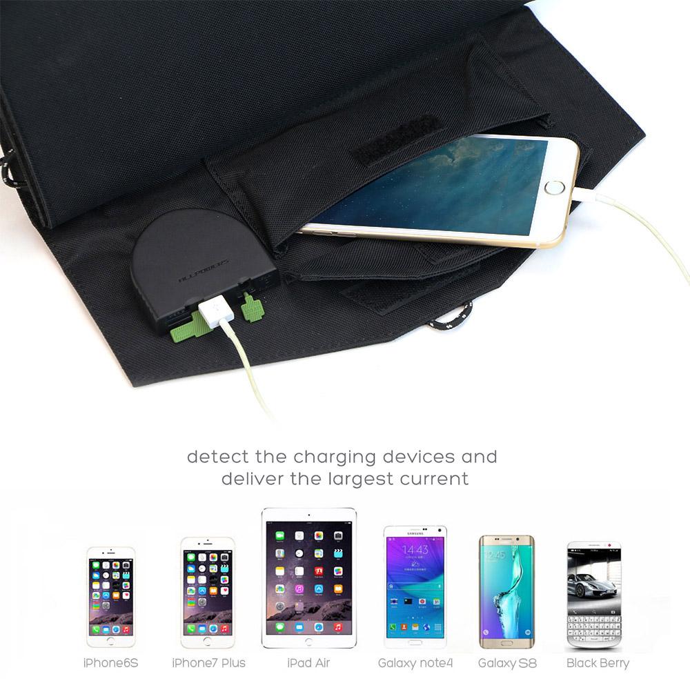 Phone Laptop Solar Battery 4