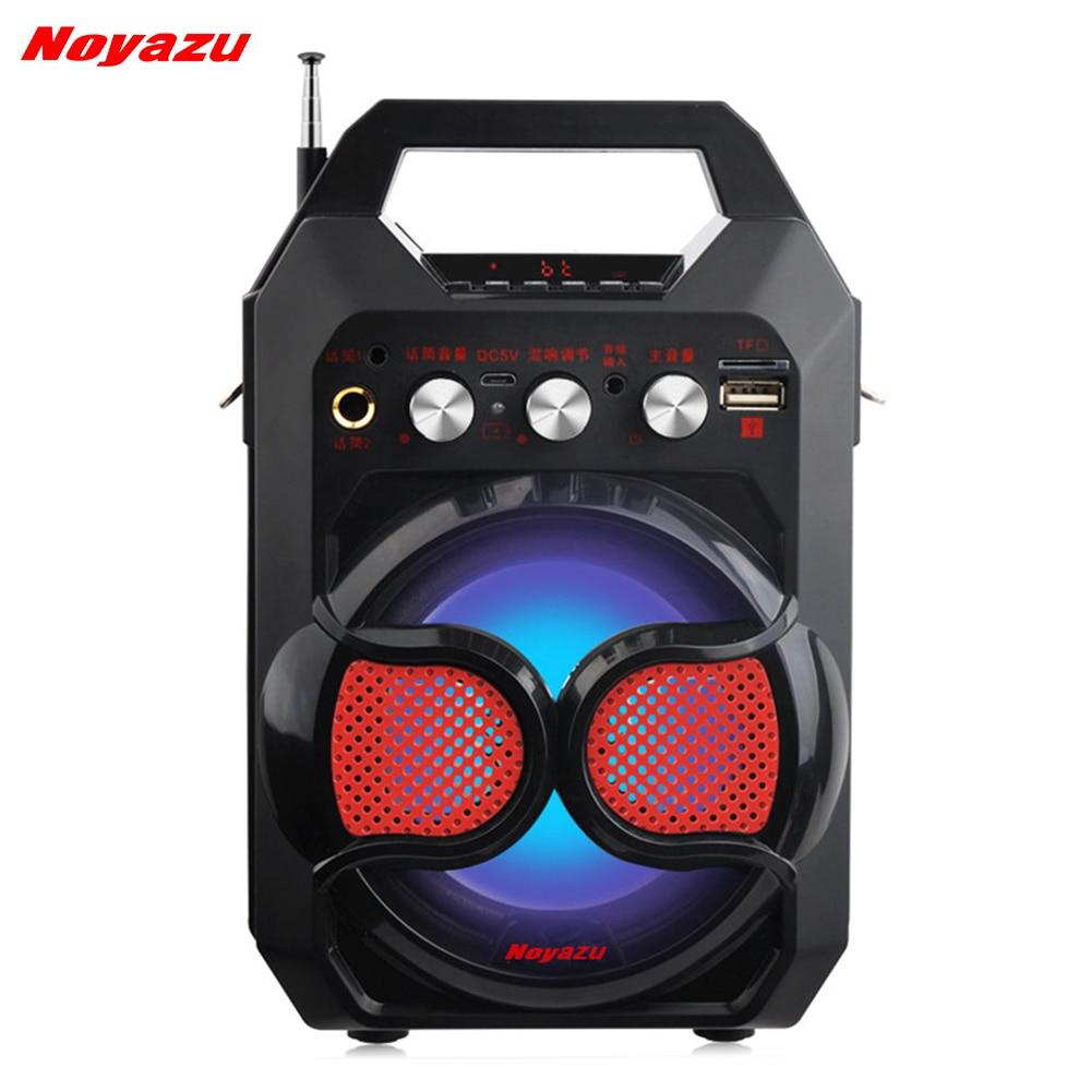 Noyazu K88 Haute Puissance Bluetooth Haut-Parleur Sans Fil Microphone Amplificateur Haut-Parleur Portable Soutien TF Carte USB Jouer Colonne