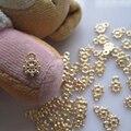 Mp-07 5 unids oro de lujo colgante Deco Charms metálicos de Metal encantos Deco del arte del clavo