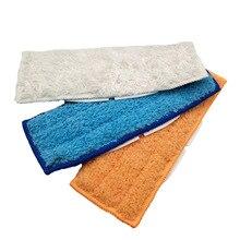 6 шт./2 комплекта моющиеся чистящие подушечки из микрофибры для влажной и сухой уборки Подметальные подушечки для iRobot Braava Jet 240 241 высокое качество