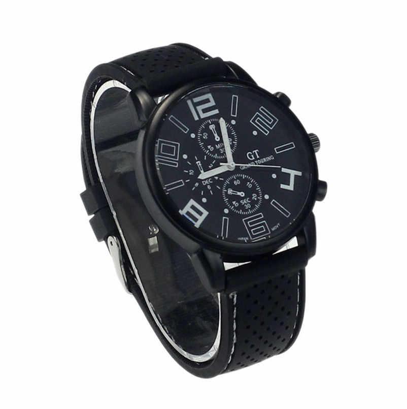 Gran oferta nuevo reloj de pulsera para hombre, reloj de pulsera de acero inoxidable de lujo para deportes, reloj de pulsera de cuarzo analógico, envío directo 2018