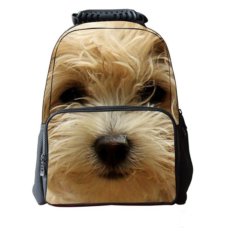 d3b56096df068 Klassische 3D Tier Schultaschen Für Jungen Cute Pet Welpen Hund Druck  Rucksack kinder Mochilas Escolares Große Kapazität Filztasche in Klassische 3D  Tier ...