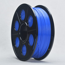 ABS 3D Printer Filament 1.75mm Dimensional Accuracy +/- 0.02 mm About 400m Blue Color For 3D Printer Pen With Makerbot Rearap UP