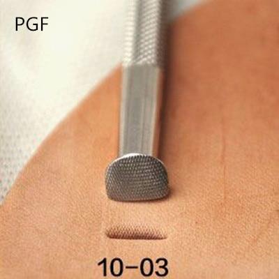 PGF10-03 incə paslanmayan polad Knock hipotenüz çap dəri alətləri