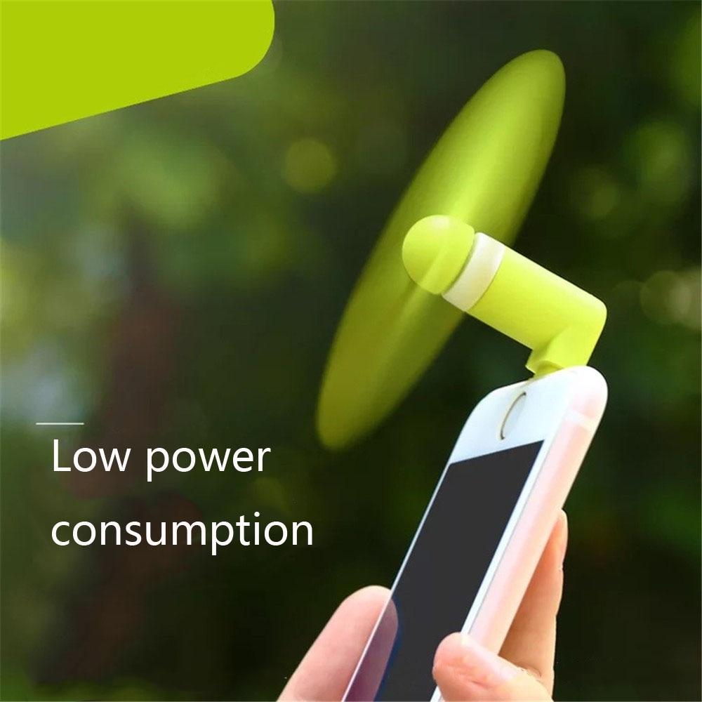 Ka Diffusor Reise Tragbare Mini Usb Fan Für Iphone 5 6 7 8 Blitz Fan Tragbare Micro Usb Fan Otg Smartphone Usb Gadget Fans