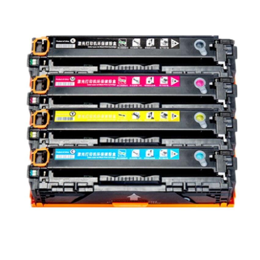 CF210A CF211A CF212A CF213A 131A Compatible Color Toner Cartridge for HP LaserJet Pro 200 color M251nw M276n M276nw printer use for hp 4730 toner cartridge toner cartridge for hp color laserjet 4730 printer use for hp toner q6460a q6461a q6462a q6463a