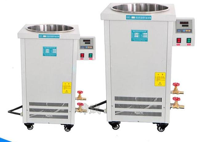 10L recycling oil heater heating machine 200 Celsius Degree for chemical jacket reactor