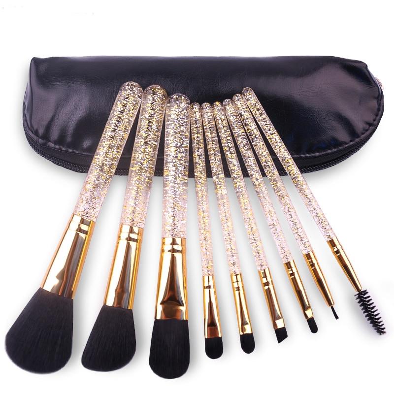 цена на 9Pcs Professional Makeup Brushes Set Beginner Brush Combination Makeup Tools Makeup Tools Beauty Kits