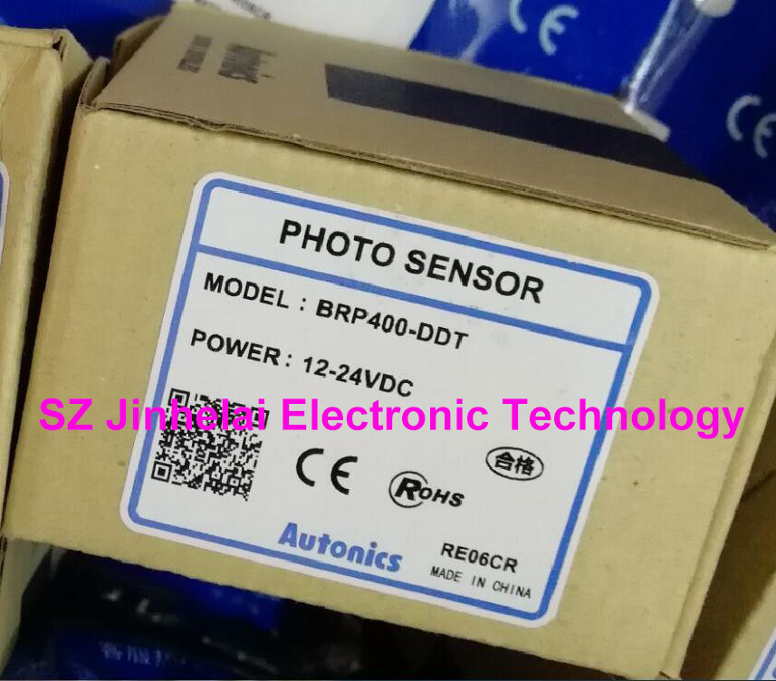 New and original BRP400-DDT AUTONICS Photoelectric switch PHOTO SENSOR 12-24VDC new and original bts1m tdtl autonics photo sensor photoelectric switch dc12 24v product need 4 weeks delivery time