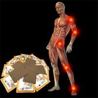8Pcs/Bag Detumescence and Pain Relieve Plaster Patch Meridians Rheumatoid Arthritis Cervical Spondylosis Cordycep Essential oils Essential Oil