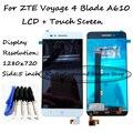 Blanco/Negro Pantalla LCD + Pantalla Táctil Digitalizador Asamblea Reemplazo Para ZTE Voyage 4 Hoja A610 TD-LTE + Free herramientas