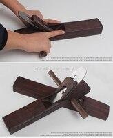 Ebenholz Carpenter Hand Hobel  DIY Holzbearbeitung Werkzeuge