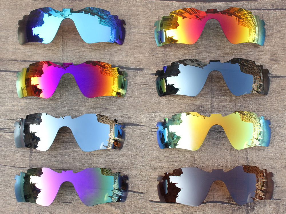 PapaViva POLARIZED Replacement Lenses for Radar Path Vented Sunglasses 100% UVA & UVB Protection - Multiple Options