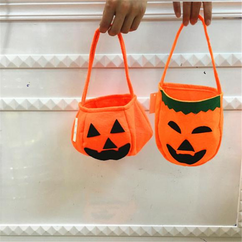 Halloween Pumpkin bags cos Cosplay Candy Bags Non Woven Bags Halloween Christmas Party Prop High Quality Free shipping Anime