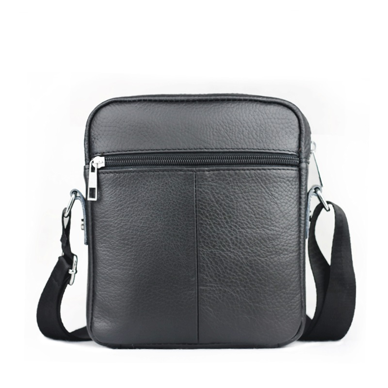 1994f77d5a New High quality genuine leather men bag small messenger bags fashion brand  design men s shoulder bag black-in Crossbody Bags from Luggage   Bags on ...