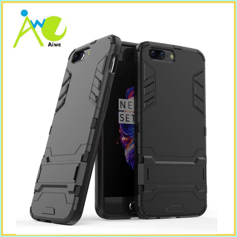 OnePlus 5 Case One Plus 5 Cover OnePlus 3T PC+TPU Silicone OnePlus 3 Phone Fundas Kickstand Cases Coque Capa