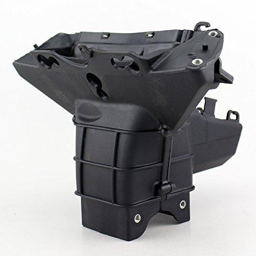 Moto noir haute rester support de lampe séjour de carénage pour Kawasaki ZX 6R 2009 2010 20111 2012 dans Fixations de phares de Automobiles et Motos