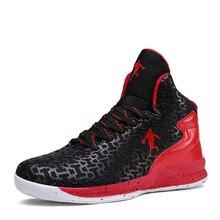 Par de zapatos de baloncesto al aire libre hombres mujeres zapatillas de deporte a prueba de golpes ropa unisex zapatillas de baloncesto resistentes zapatos deportivos transpirables
