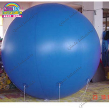 Dia 3m inflatable Advertising balloon,customized logo hot air balloon decoration with 0.18mm PVC