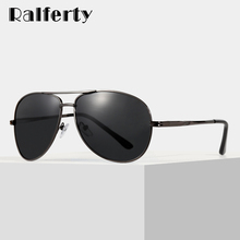 Ralferty Pilot Sunglasses Men Polarized UV400 High Quality 2019 Classi
