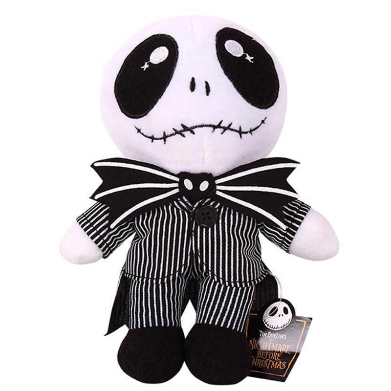23 см кошмар перед Рождество Джек плюшевые игрушки красивый череп Джейк Мягкие куклы best подарок для детей
