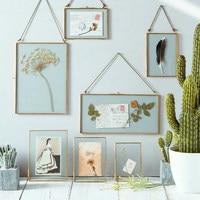 Di Modo dell'europa Wall Hanging Glass Photo Frame Della Decorazione Della Parete Cornici Per Quadri e Le Immagini