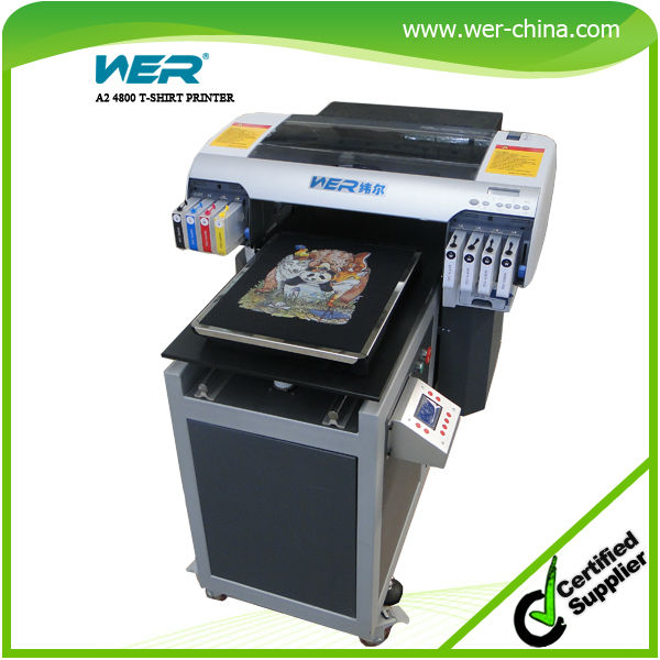 c53f4024b direct to garment printer, A2 size refitted from Epson JET 4880 with white  color high resolution and strong adhesive. Price: