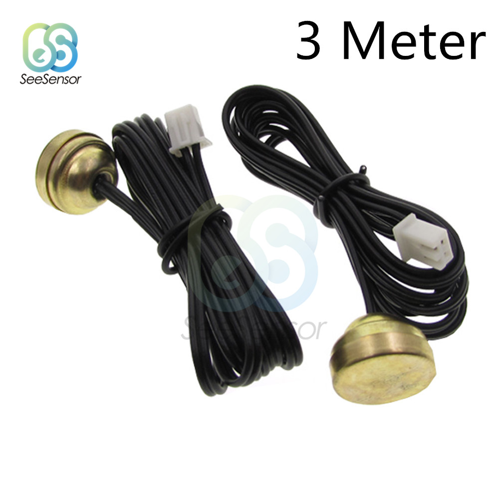 3 meter NTC Thermistor Accuracy Temperature Sensor 10K Magnetic Probe Temperature Measuring Sensor