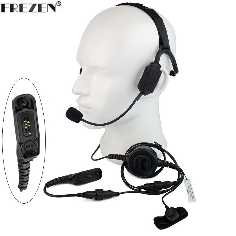 Walkie talkie Military Bone Conduction Tactical Headset Boom Mic For Motorola Two Way Radio APX6000 DP4601 XiR P8268 8260 DP3401Walkie talkie Military Bone Conduction Tactical Headset Boom Mic For Motorola Two Way Radio APX6000 DP4601 XiR P8268 8260 DP3401