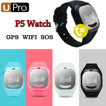 2016 Newset UPro P5 Buletooth Smart Watch For Kids Baby GPS Positioning intelligent GPS tracking Remote Monitor Watch For Child