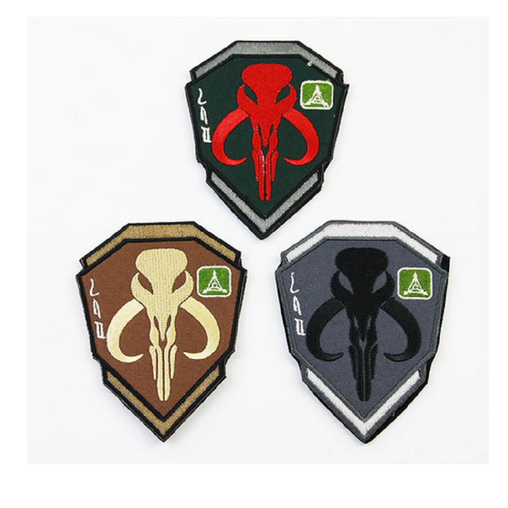 25pcslot bounty hunter patch 3d embroidery patches mandalos 25pcslot bounty hunter patch 3d embroidery patches mandalos skull star wars bounty hunter boba fetmadik patches in patches from home garden on buycottarizona Image collections