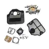 Carburetor Carb Replace Kit For HUSQVARNA 36 41 136 137 141 142 Chainsaw