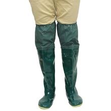 2017 new fishing boots  pvc high bot rain boots   hot sale  winter water bots men  antiskid boots galoshes mens rubber rain boot