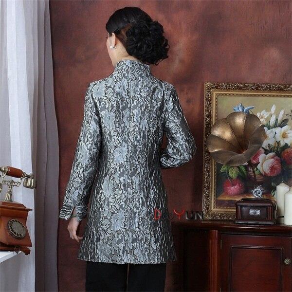 gris Veste Outwear Chinois Discount Manteau Xxxl Slim Burgundy À Gris Satin Lady Livraison Taille Gratuite S Fleur Soie Mandarin Collar Bouton xRBqxw