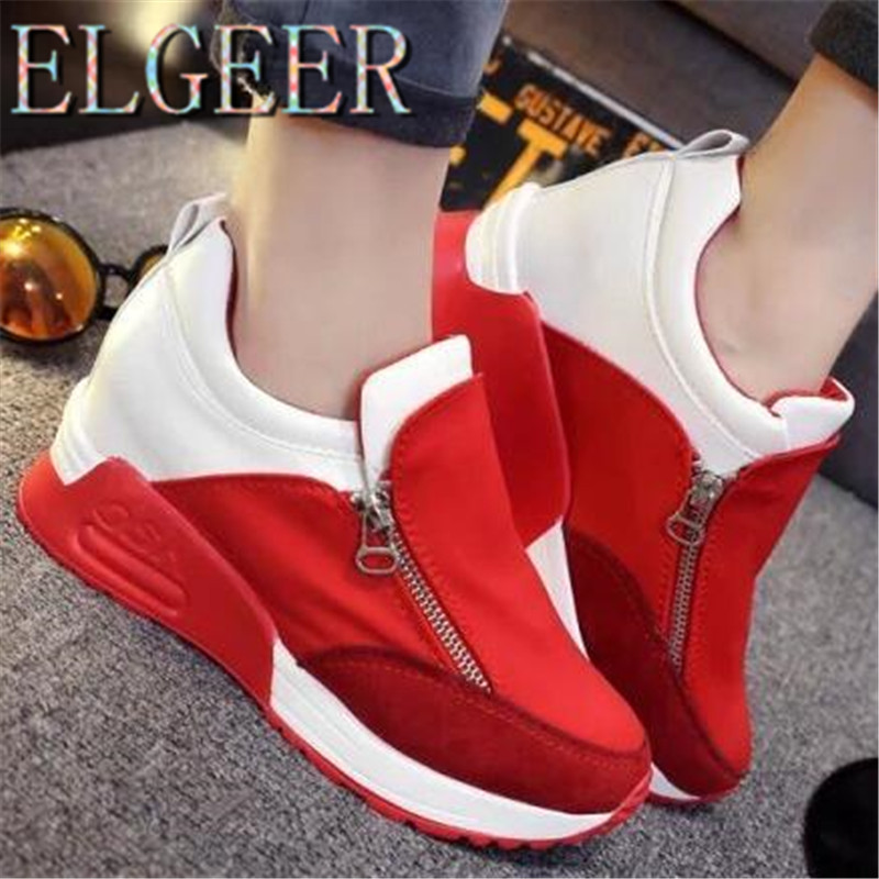 Frauen Walking Flats Trainer Schuhe 2018 neue Casual High-Intensity - Damenschuhe